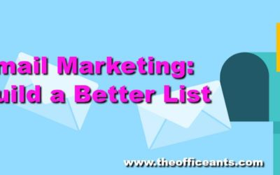 Email Marketing: Build a Better List